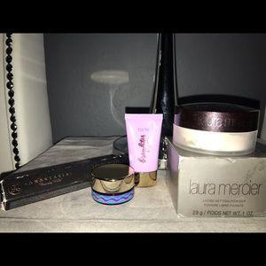 A bundle of unused makeup